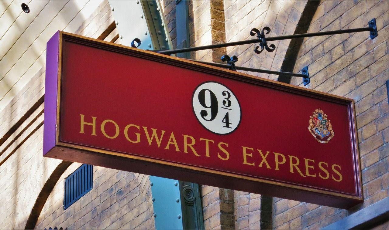 Cartel Hogwarts Express