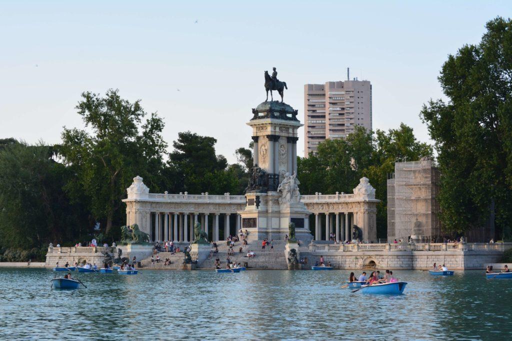 Lago del Parque de El Retiro