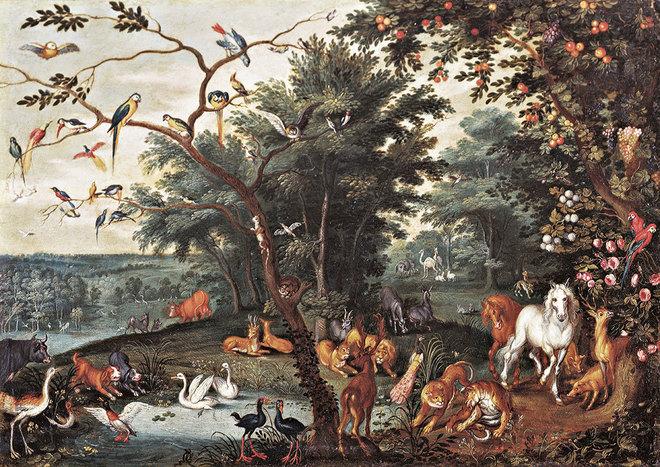 Cuadro de la Exposición de Brueghel en Madrid
