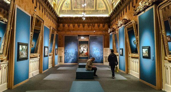Sala de la Exposición de Brueghel en Madrid