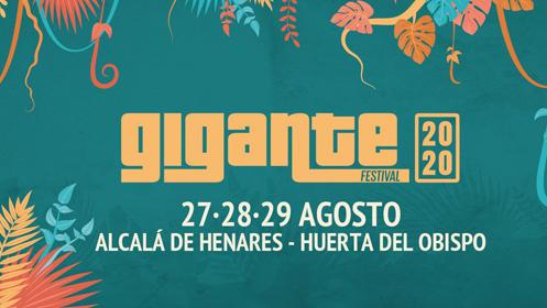 Fechas Festival Gigante 2020