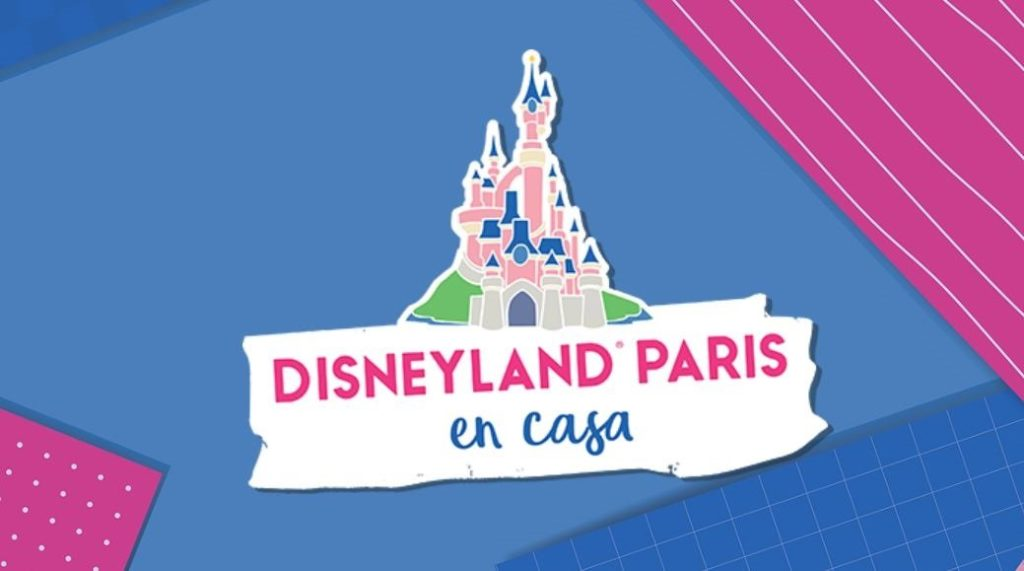 Logo Disney Land Paris en casa