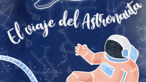 Cartel El viaje del Astronauta