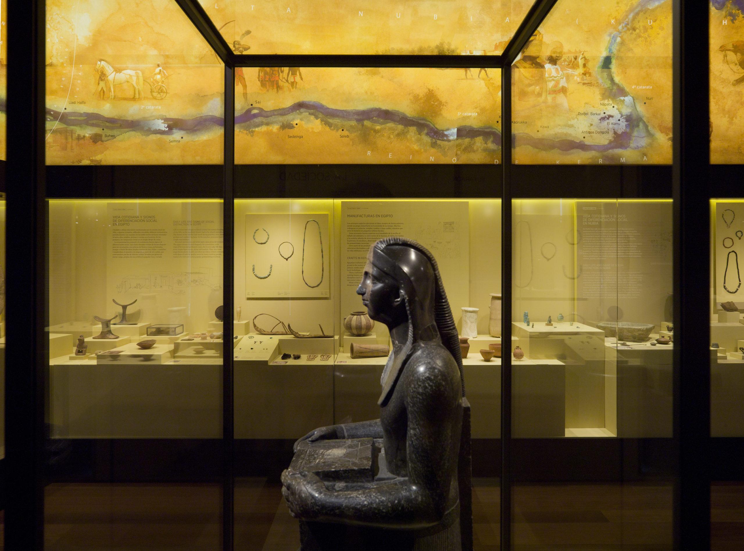 Sala del Museo Arqueológico Nacional