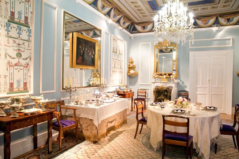 Sala interior del Museo del Romanticismo de Madrid