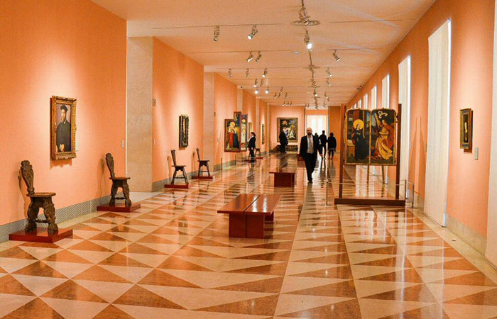 Sala del Museo Thysssen Bornemisza