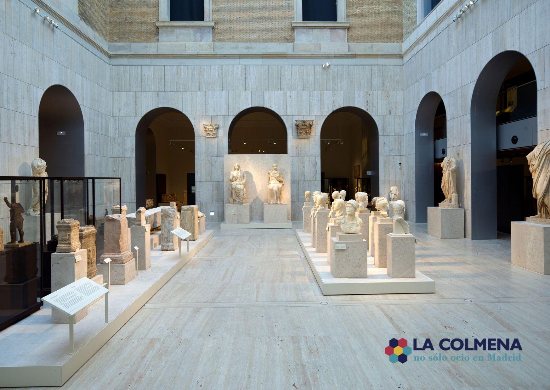 Sala del Museo Arqueológico Nacional de Madrid