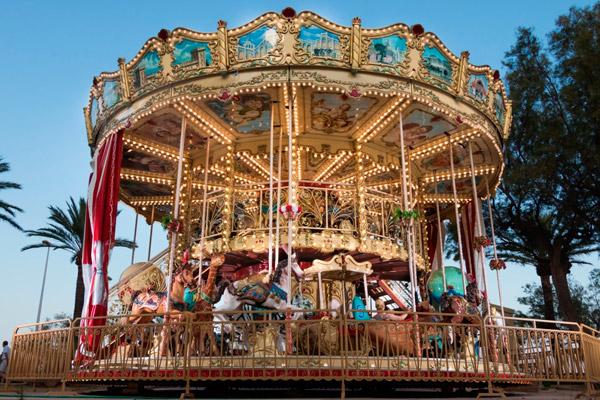 Carrousel Infantil estilo veneciano