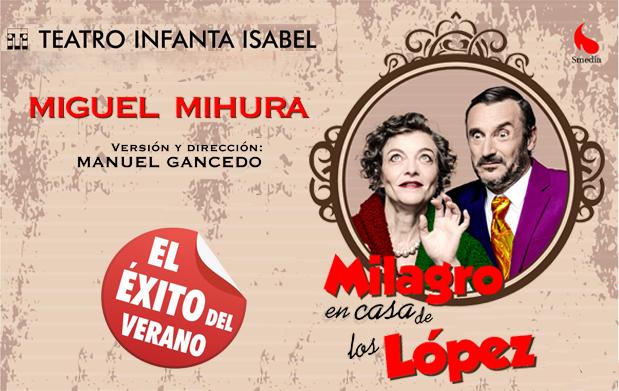 Entradas Teatro Oferta Milagro En Casa De Los