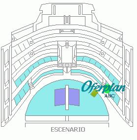 plano teatro real madrid