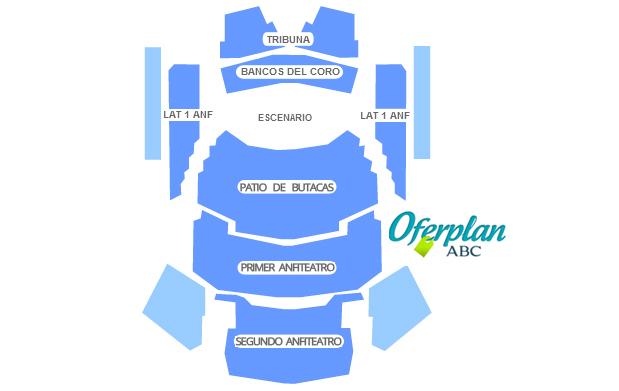 plano sala sinfonica auditorio nacional