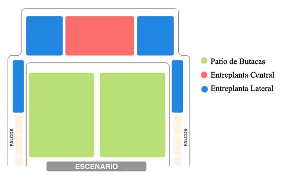 plano teatro amaya madrid