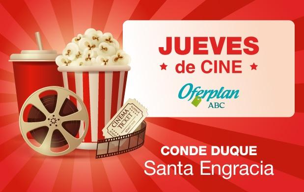 4 5 oferta entradas cine madrid cine conde duque santa for Oficina de madrid santa engracia
