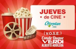 Entradas y palomitas VERDI Alberto Aguilera | Jueves de Cine