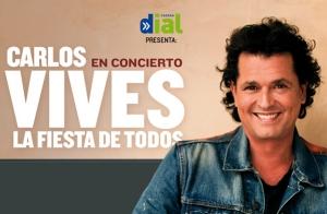 Carlos Vives en A Coruña, Madrid y Murcia