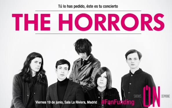 Entradas The Horrors + The Horrors Afterparty DJ