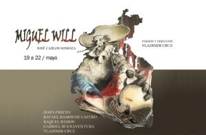 Entradas Miguel Will en el Teatro Galileo