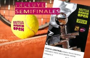 Entradas Mutua Madrid Open con tu compra