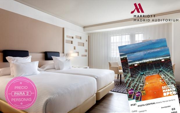 Semifinal mutua madrid open entradas oferta con hotel for Entradas oceanografic ofertas 2016