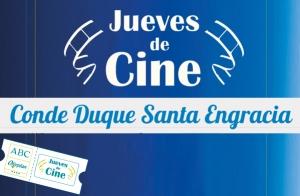 Entradas para el Jueves en Cine Santa Engracia